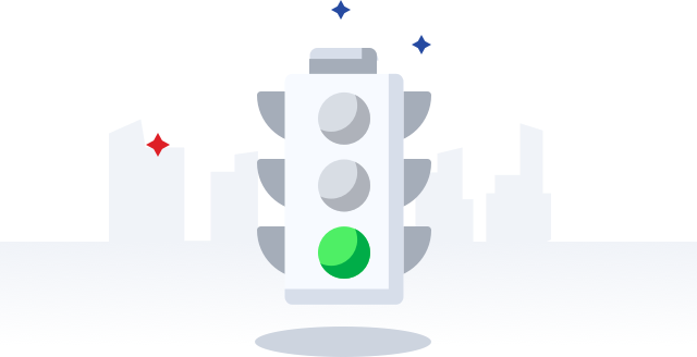 Traffic sign in